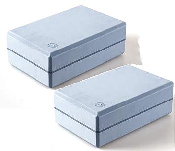 HHH Yoga Block 2 PC Compatible con Látex EVA Foam Yoga Brick ...