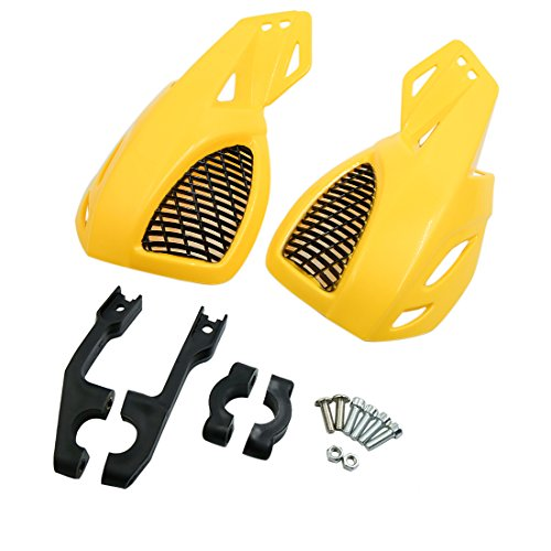 uxcell a18042300ux0016 Motorcycle Hand Guard, 2 Pack