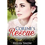 Romance: Mail Order Bride: Corine's Rescue (A Clean Historical Western Romance)