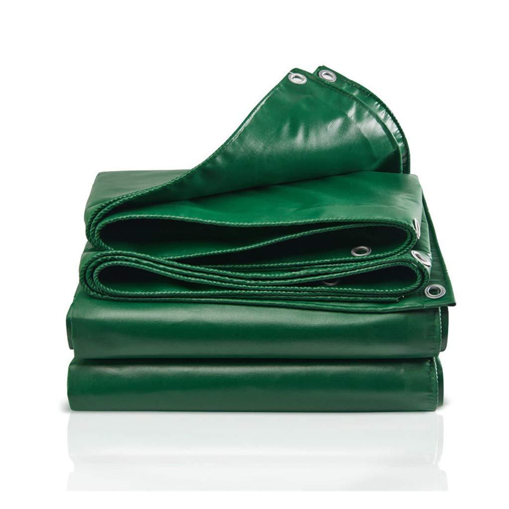 Wasserdichte Plane wolaoma Plastikplane Freien (Farbe : Grün, größe : 5M×4M)