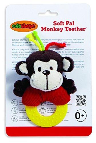 【5%OFF】 Edushape Soft Pal B078WWCCB2 [並行輸入品] Monkey Teether Soft [並行輸入品] B078WWCCB2, green clover project:7067bbeb --- a0267596.xsph.ru