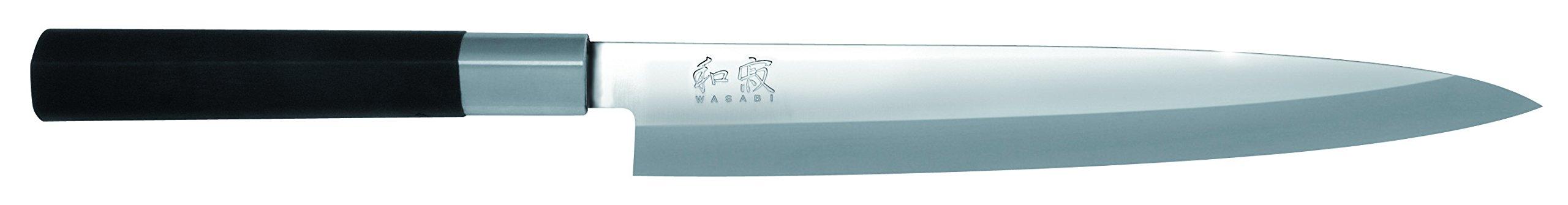 Kai Wasabi Black Yanagiba Knife, 8 1/4-Inch