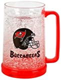 Tampa Bay Buccaneers 16oz Crystal Freezer Mug