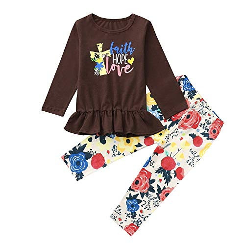 Price comparison product image PLENTOP 2019 Baby Clothes Unisex, Baby Girl Clothes 6-9 Months Fall / Winter