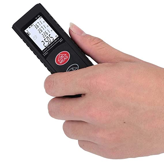 Handheld W-80 High Quality Black Mini Laser Distance Meter Measuring Range Tool