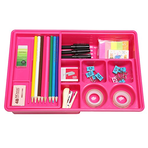 Compartment Office Plastic Organizer Sliding