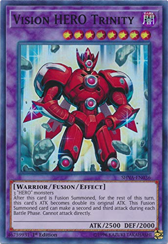 Yu-Gi-Oh! - Vision Hero Trinity - SHVA-EN036 - Super Rare - 1st Edition - Shadows in Valhalla
