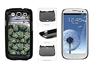 Clear Weed Mason Jar Plastic Phone Case Back Cover Samsung Galaxy S3 I9300