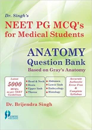 Buy NEET PG MCQs for Medical Students: Anatomy Question Bank Based ...