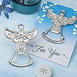 66 Guardian Angel Design Silver Metal Bottle Openers