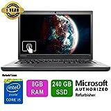 "Lenovo ThinkPad T440s Laptop,14""Touch,Intel Core i5,8GB RAM,240GB SSD,Win10 Pro!"
