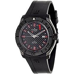 Edox Class 1 GMT Worldtimer Men's Automatic Watch 93005-37N-NRO