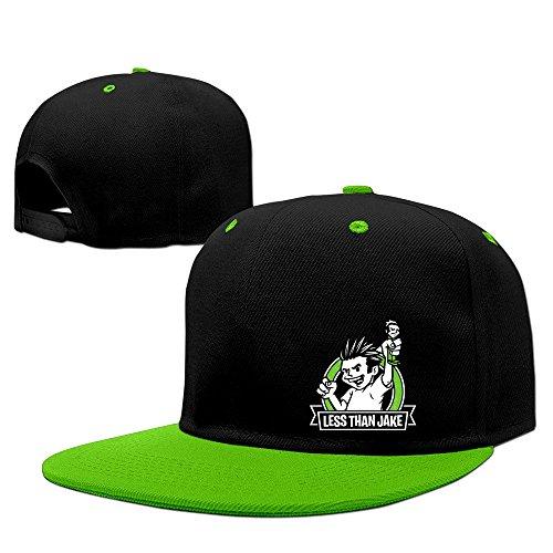 Cool Menos de Jake de Banda pezcore Losing Streak Ball Caps, KellyVerde, Talla única