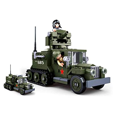 Sluban M38-B0685 Construction Set, Multi Colour: Toys & Games