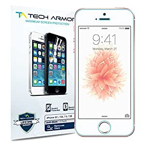 Tech Armor Matte Screen Protector - Protector de pantalla para Apple iPhone 5/5S/5C
