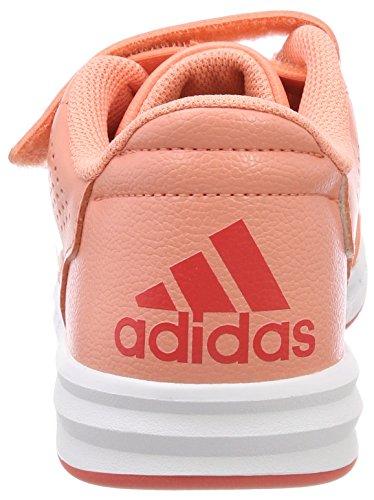 S18 reacor White Altasport 31843 Bambini real Adidas Chacor Arancione Da Scarpe ftwr Basse Cf chalk S18 Unisex Coral Ginnastica ftwwht 7pCqwHC
