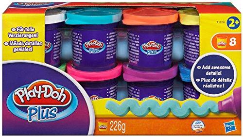 181 opinioni per Playdoh- Vasetti Plus con Pasta da Modellare, Confezione da 8 Pezzi