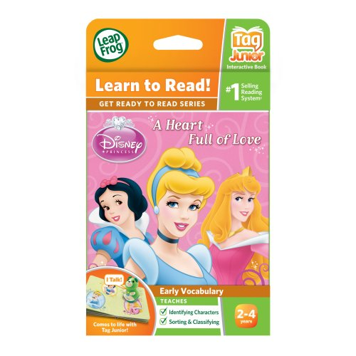 LeapFrog LeapReader Junior Book: Disney Princess: A Heart Full of Love (works with Tag Junior) by LeapFrog (Image #3)
