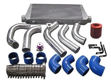 1jzgte Vvti 1JZ Swap 240sx S13 S14 tuberías Intercooler Turbo ingesta kit único Turbo: Amazon.es: Coche y moto