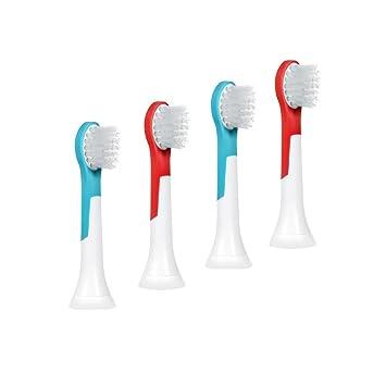 BigbigWo Mini cabeza de cepillo de dientes para Philips HX6311 Sonicare - Cepillo de dientes eléctrico para niños: Amazon.es: Salud y cuidado personal