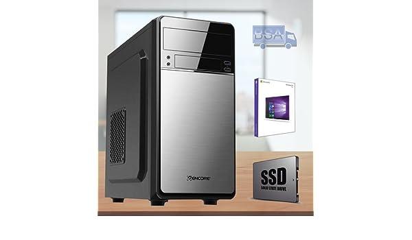 BSA PC Intel Pentium g4560 3.50 GHz 4 GB SSD 120 GB Windows 10 USB ...