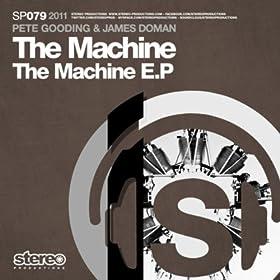 the machine mixes