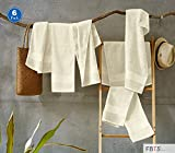 FBTS Basic Hand Towels 6 Packs Beige 16x31 Inches Luxury Towels Highly Absorbent Extra Soft Professional Grade Five-Star Hotel Quality