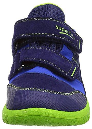 Superfit Sport7 Mini - Botas de Senderismo Bebé-Niñas Blau (nautic Multi)