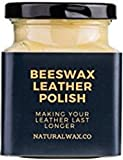 Natural Beeswax Leather Balm for high Quality Leather to Protect and Restore Suitable to be Used on Leather Sofa, Jacket, Shoes and car Interior (130ml)