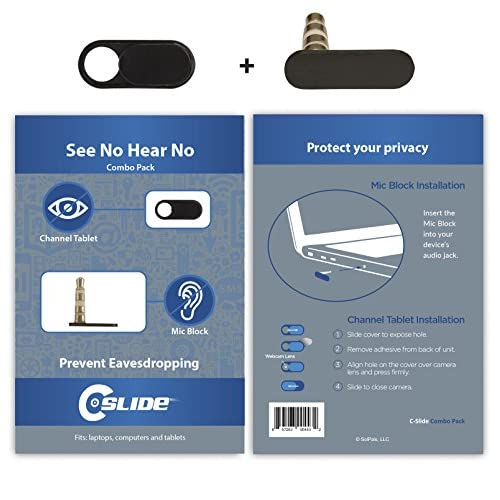 good C-Slide See No Hear No Combo Pack, Channel Tablet