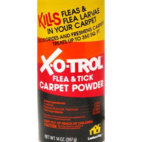 X-O-Trol Flea & Tick Carpet Powder