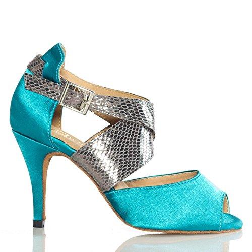 Miyoopark , Salle de bal femme - bleu - Blue-10cm heel, 35