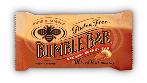 Classic Mixed Nuts - BumbleBar Gluten Free Organic Energy Original Mixed Nut, 12-Count