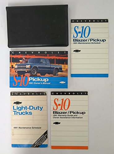 1991 Chevrolet S-10 Pickup Owners Manual