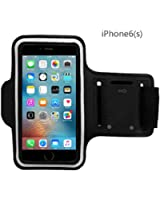 iPhone 6 6sPlus Armband-JZxin Bundle with Screen Protector, Reflective Strip, Water Resistant, Running, Exercise,ID / for iPhone 6Plus, 6S Plus, Galaxy S6/S5, Note 4 - 5.5 Inch