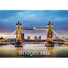 Bridges Wall Calendar 2016 - Architecture Calendar - Poster Calendar - Photography Calendar By Helma