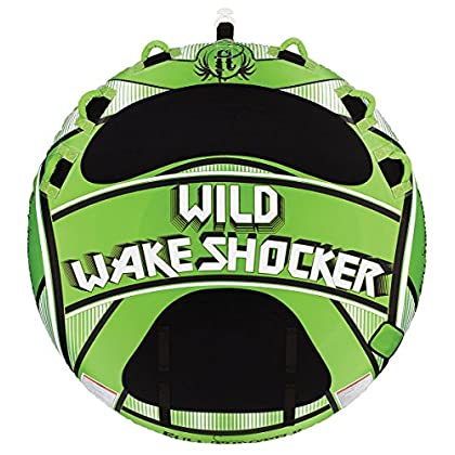 Image of Full Throttle Wake Shocker Fully Covered Towable Tube Waterskiing & Towsports