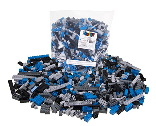 Strictly Briks 672 Piece Classic Bricks Building Brick Set   100% Compatible with All Major Brick Brands   Premium Tight Fit Building Bricks in Space Themed Colors   9 Different Shapes and Sizes