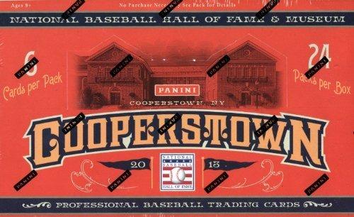 2013 Panini Cooperstown Baseball Box (24 pk HOBBY) (Cooperstown Memorabilia)