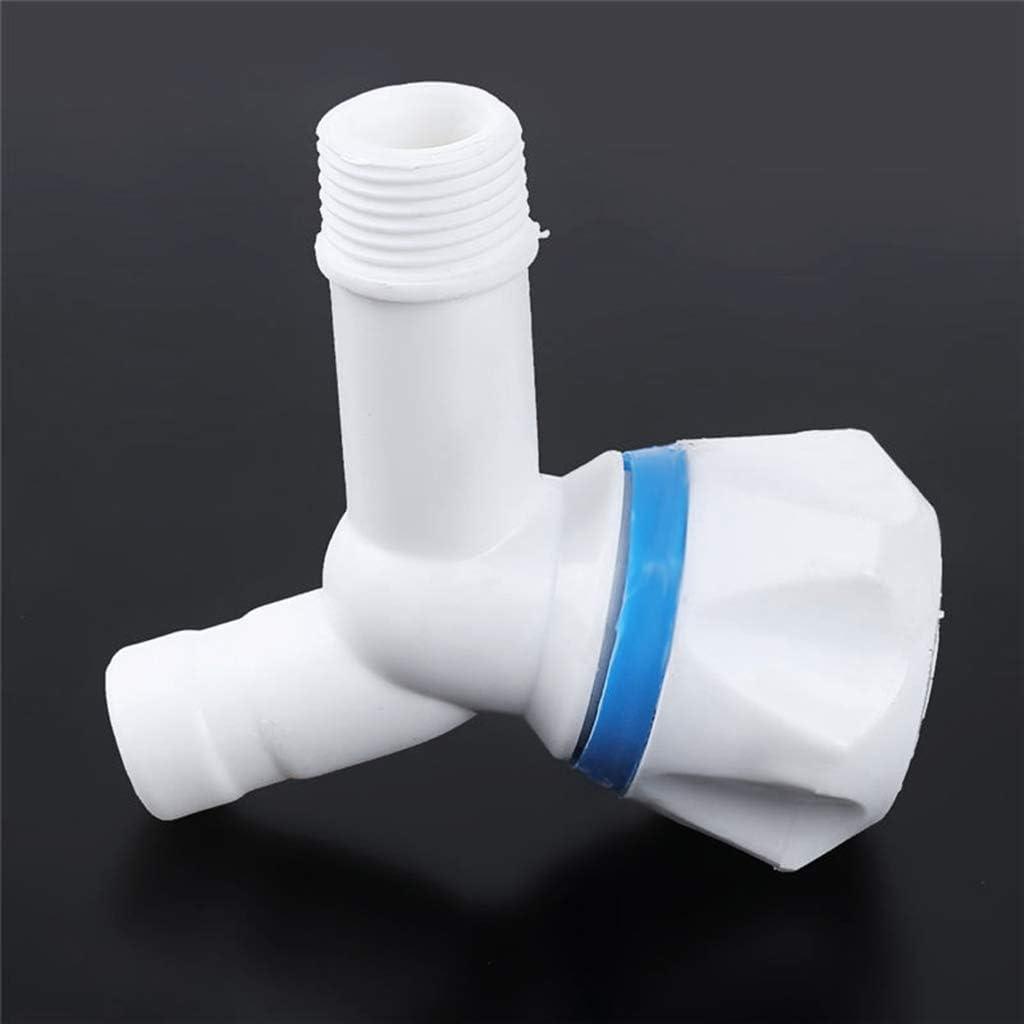 Grifo de plástico PP macho rosca pequeña Bibcock fácil de instalar ...