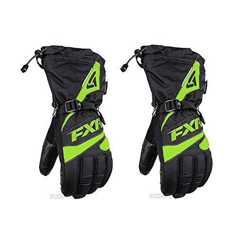 FXR-Snow Fuel Electric Lime XXX-Large Waterproof Gloves for Adult