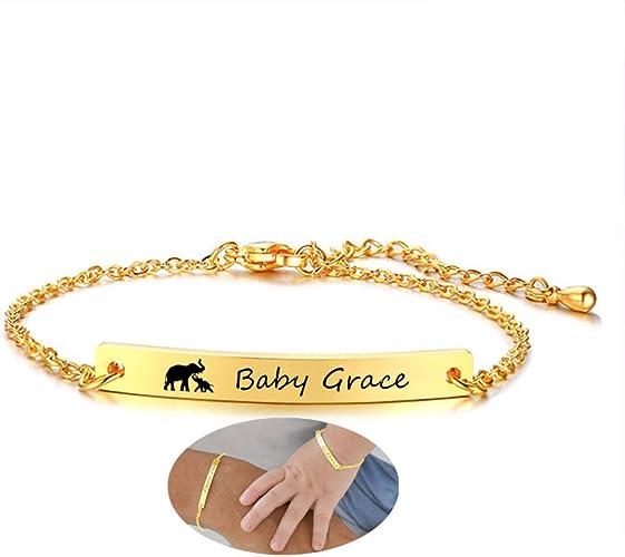 birth bracelet Birth baptismary 172 birth bracelet gift personalised baby bracelet baby name bracelet baptism boy girl