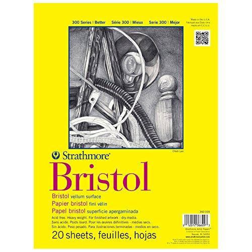 Strathmore Bristol Vellum Paper Pad 11x14-20 (Sketch Vellum Pad)