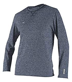 O'Neill Wetsuits Men's Basic Skins UPF 50+ Long Sleeve Sun Shirt, Hybrid Navy, X-Large (B076KPYY5Q) | Amazon price tracker / tracking, Amazon price history charts, Amazon price watches, Amazon price drop alerts