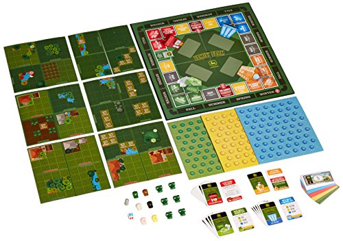 Amazon Masterpieces John Deere Family Farm Board Game Toys Games