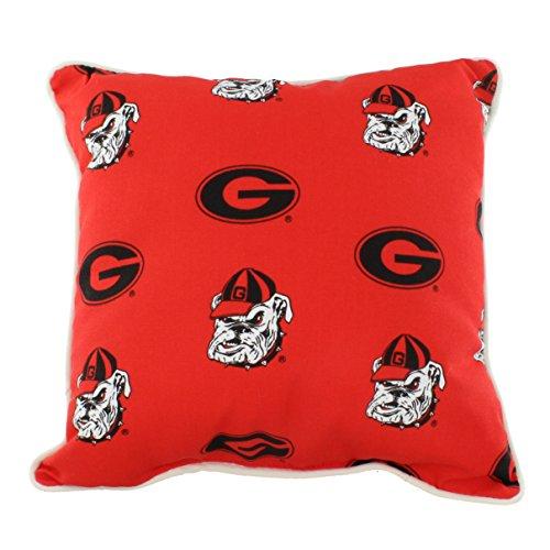 P Georgia Bulldogs Outdoor Decorative Pillow, 16
