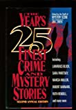 Best Detective Stories Of The Years - The Year's 25 Finest Crime and Mystery Stories Review
