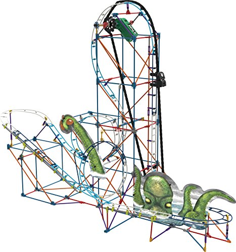 K'NEX Thrill Rides-Kraken's Revenge Roller Coaster Building Set-Ages 9+ -Engineering Education Toy