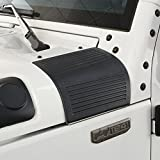 Matte Black Cowl Body Armor Side Body Guards for 2007-2018 Jeep JK Wrangler & Unlimited - Pair
