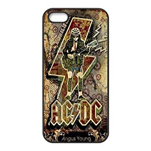 Alternating Current Direct Current ACDC Phone Case for iPhone 5S Case